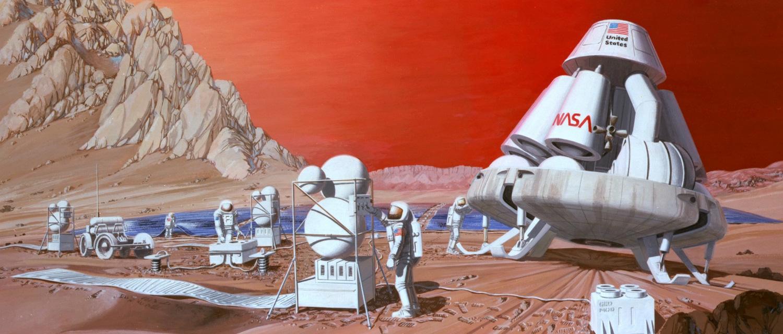 Bemannte Marsmission