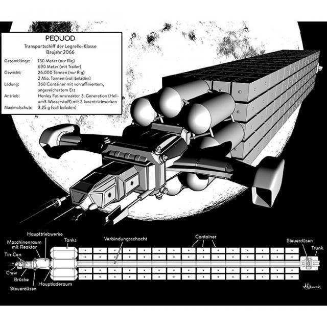 "T. S. Orgel: Terra - Transportschiff ""Pequod"""