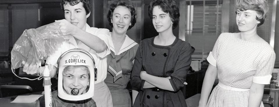 Weibliche Astronauten